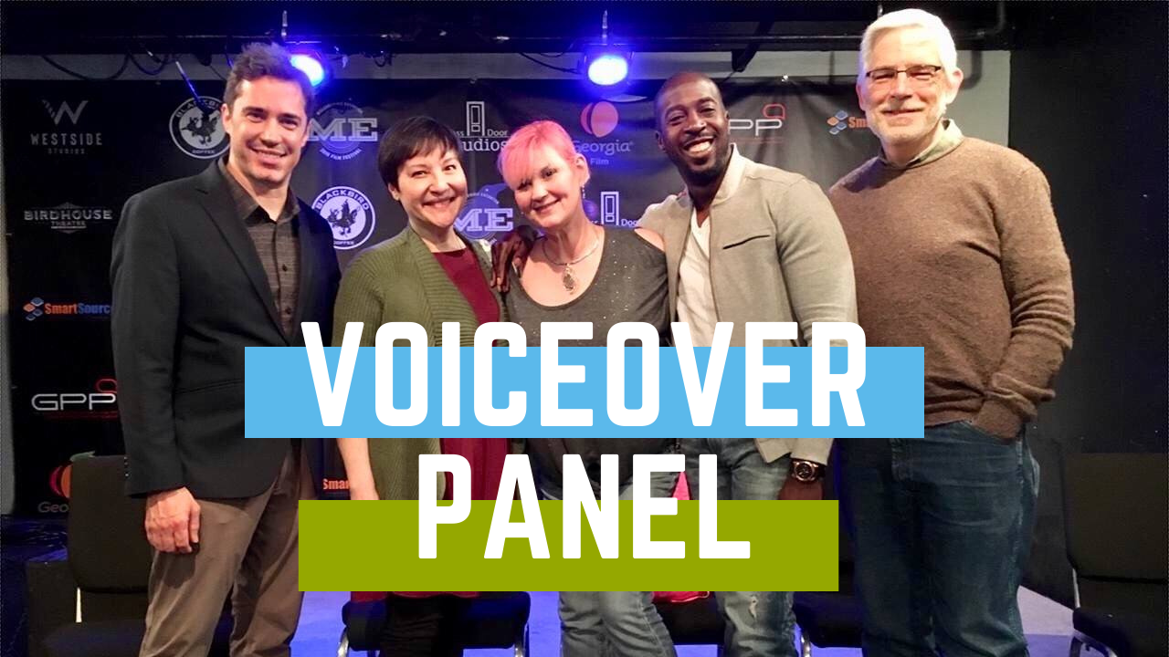 2019 Milledgeville Film Festival Voiceover Panel